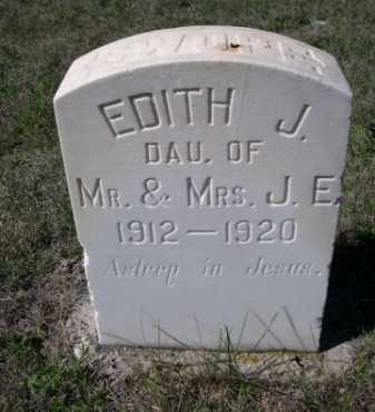 SWOPE, EDITH J. - Dawes County, Nebraska | EDITH J. SWOPE - Nebraska Gravestone Photos