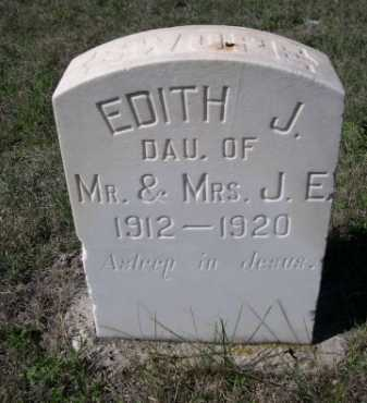 SWOPE, EDITH J. - Dawes County, Nebraska   EDITH J. SWOPE - Nebraska Gravestone Photos
