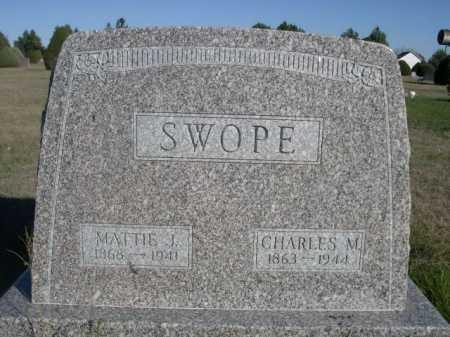 SWOPE, CHARLES M. - Dawes County, Nebraska | CHARLES M. SWOPE - Nebraska Gravestone Photos