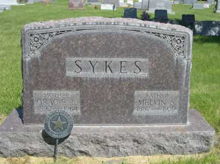 SYKES, MELVIN S. - Dawes County, Nebraska | MELVIN S. SYKES - Nebraska Gravestone Photos