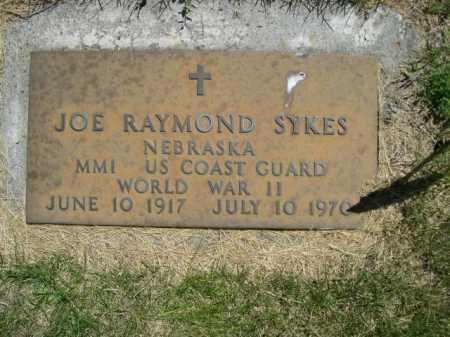 SYKES, JOE RAYMOND - Dawes County, Nebraska | JOE RAYMOND SYKES - Nebraska Gravestone Photos