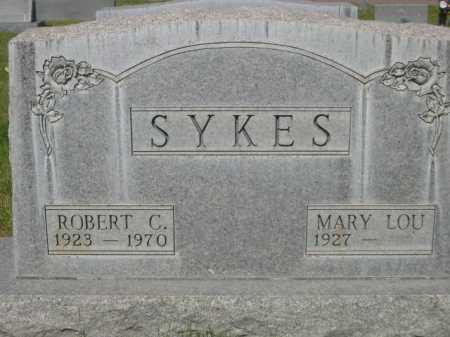 SYKES, MARY LOU - Dawes County, Nebraska | MARY LOU SYKES - Nebraska Gravestone Photos