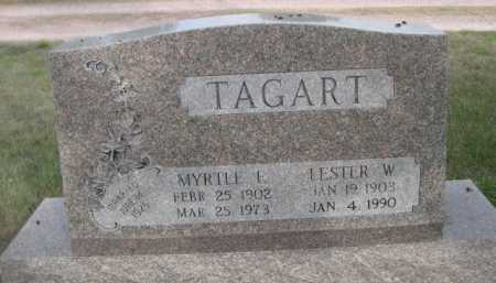TAGART, LESTER W. - Dawes County, Nebraska | LESTER W. TAGART - Nebraska Gravestone Photos