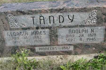 JONES TANDY, GEORGIA - Dawes County, Nebraska | GEORGIA JONES TANDY - Nebraska Gravestone Photos