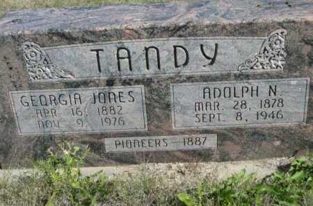 TANDY, ADOLPH N. - Dawes County, Nebraska | ADOLPH N. TANDY - Nebraska Gravestone Photos