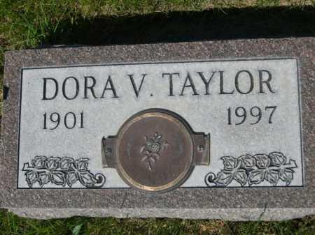 TAYLOR, DORA V. - Dawes County, Nebraska | DORA V. TAYLOR - Nebraska Gravestone Photos