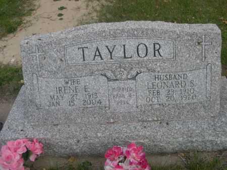 TAYLOR, IRENE E. - Dawes County, Nebraska | IRENE E. TAYLOR - Nebraska Gravestone Photos