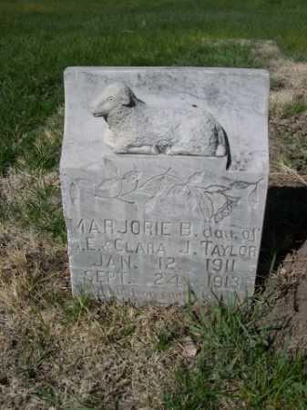 TAYLOR, MAJORIE B. - Dawes County, Nebraska | MAJORIE B. TAYLOR - Nebraska Gravestone Photos