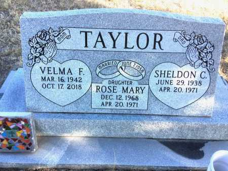 TAYLOR, ROSE M. - Dawes County, Nebraska | ROSE M. TAYLOR - Nebraska Gravestone Photos