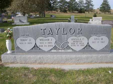 TAYLOR, WILLIAM J. - Dawes County, Nebraska | WILLIAM J. TAYLOR - Nebraska Gravestone Photos