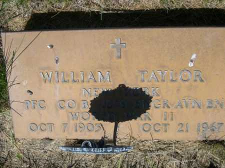 TAYLOR, WILLIAM - Dawes County, Nebraska | WILLIAM TAYLOR - Nebraska Gravestone Photos