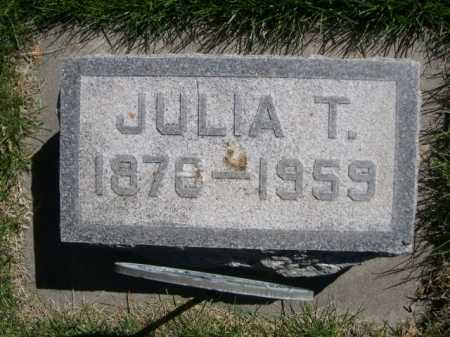TEDROW, JULIA T. - Dawes County, Nebraska | JULIA T. TEDROW - Nebraska Gravestone Photos