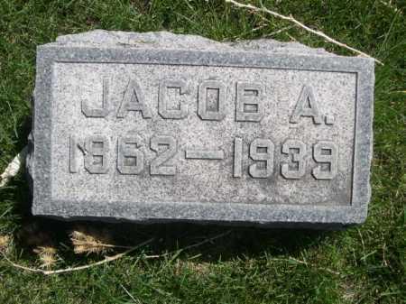 TEDROW, JACOB A. - Dawes County, Nebraska | JACOB A. TEDROW - Nebraska Gravestone Photos