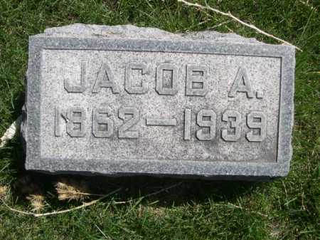 TEDROW, JACOB A. - Dawes County, Nebraska | JACOB A. TEDROW - Nebraska Gravestone Photos