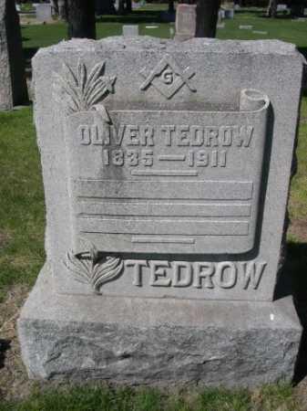 TEDROW, OLIVER - Dawes County, Nebraska | OLIVER TEDROW - Nebraska Gravestone Photos