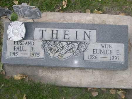 THEIN, EUNICE E. - Dawes County, Nebraska | EUNICE E. THEIN - Nebraska Gravestone Photos