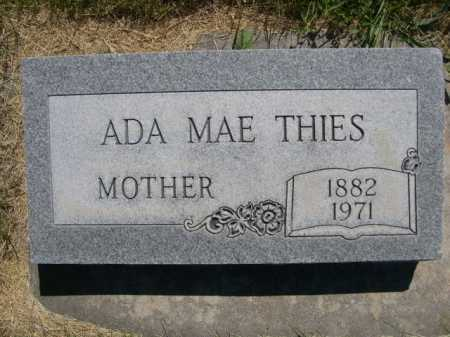 THIES, ADA MAE - Dawes County, Nebraska   ADA MAE THIES - Nebraska Gravestone Photos