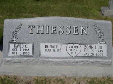 THIESSEN, RONALD J. - Dawes County, Nebraska | RONALD J. THIESSEN - Nebraska Gravestone Photos