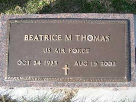 THOMAS, BEATRICE M. - Dawes County, Nebraska | BEATRICE M. THOMAS - Nebraska Gravestone Photos