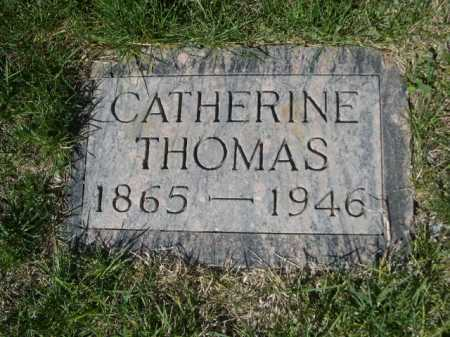 THOMAS, CATHERINE - Dawes County, Nebraska | CATHERINE THOMAS - Nebraska Gravestone Photos