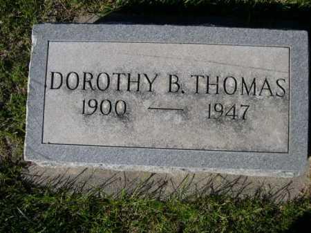 THOMAS, DOROTHY B. - Dawes County, Nebraska   DOROTHY B. THOMAS - Nebraska Gravestone Photos