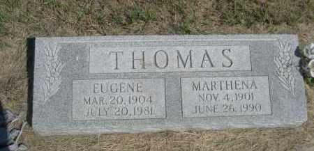 THOMAS, EUGENE - Dawes County, Nebraska | EUGENE THOMAS - Nebraska Gravestone Photos