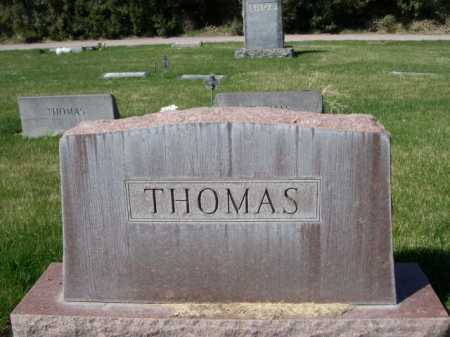 THOMAS, FAMILY - Dawes County, Nebraska | FAMILY THOMAS - Nebraska Gravestone Photos