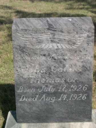 THOMAS, JOHN C. JR. - Dawes County, Nebraska | JOHN C. JR. THOMAS - Nebraska Gravestone Photos