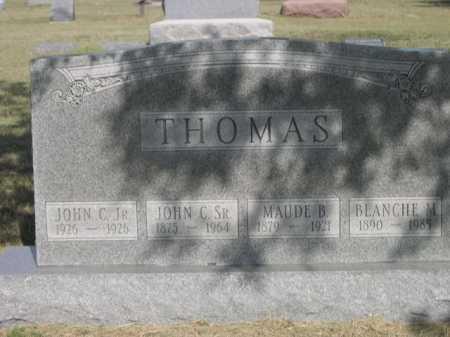 THOMAS, MAUDE B. - Dawes County, Nebraska | MAUDE B. THOMAS - Nebraska Gravestone Photos