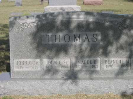 THOMAS, JOHN C. SR. - Dawes County, Nebraska | JOHN C. SR. THOMAS - Nebraska Gravestone Photos