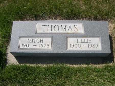 THOMAS, TILLIE - Dawes County, Nebraska | TILLIE THOMAS - Nebraska Gravestone Photos