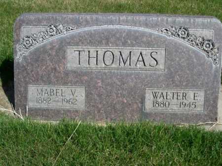 THOMAS, MABEL V. - Dawes County, Nebraska | MABEL V. THOMAS - Nebraska Gravestone Photos
