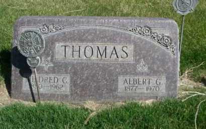 THOMAS, MILDRED C. - Dawes County, Nebraska | MILDRED C. THOMAS - Nebraska Gravestone Photos