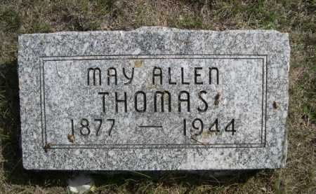 THOMAS, MAY ALLEN - Dawes County, Nebraska | MAY ALLEN THOMAS - Nebraska Gravestone Photos
