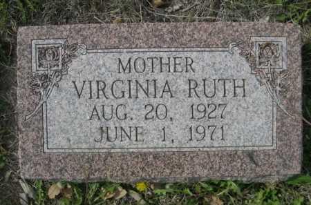 THOMAS, VIRGINIA RUTH - Dawes County, Nebraska | VIRGINIA RUTH THOMAS - Nebraska Gravestone Photos