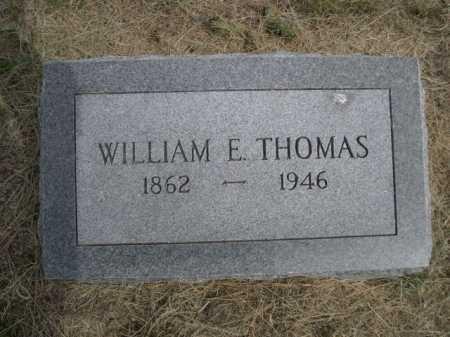 THOMAS, WILLIAM E. - Dawes County, Nebraska | WILLIAM E. THOMAS - Nebraska Gravestone Photos