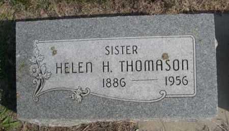 THOMASON, HELEN H. - Dawes County, Nebraska | HELEN H. THOMASON - Nebraska Gravestone Photos