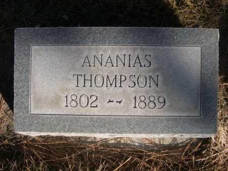 THOMPSON, ANANIAS - Dawes County, Nebraska | ANANIAS THOMPSON - Nebraska Gravestone Photos