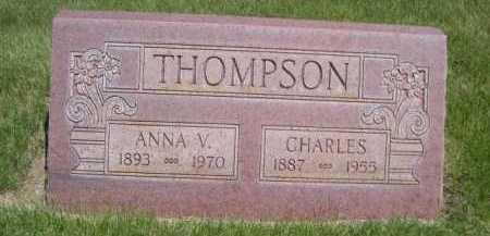 THOMPSON, ANNA V. - Dawes County, Nebraska | ANNA V. THOMPSON - Nebraska Gravestone Photos