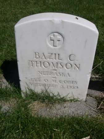 THOMPSON, BAZIL - Dawes County, Nebraska | BAZIL THOMPSON - Nebraska Gravestone Photos