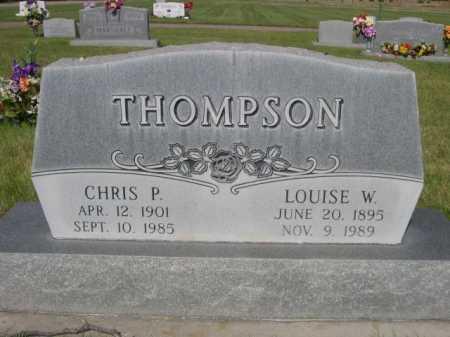 THOMPSON, LOUISE W. - Dawes County, Nebraska | LOUISE W. THOMPSON - Nebraska Gravestone Photos