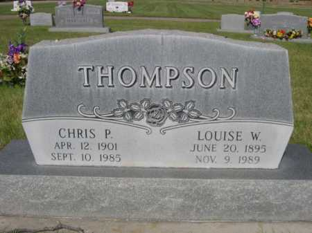 THOMPSON, CHRIS P. - Dawes County, Nebraska | CHRIS P. THOMPSON - Nebraska Gravestone Photos