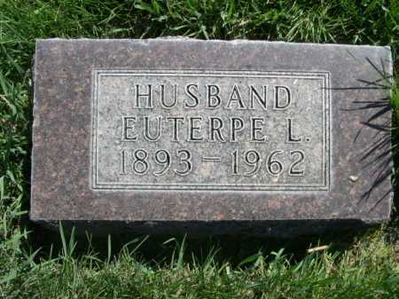 THOMPSON, EUTERPE L. - Dawes County, Nebraska | EUTERPE L. THOMPSON - Nebraska Gravestone Photos
