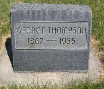 THOMPSON, GEORGE - Dawes County, Nebraska | GEORGE THOMPSON - Nebraska Gravestone Photos