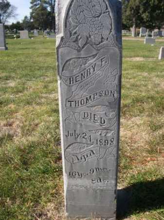 THOMPSON, HENRY F. - Dawes County, Nebraska | HENRY F. THOMPSON - Nebraska Gravestone Photos