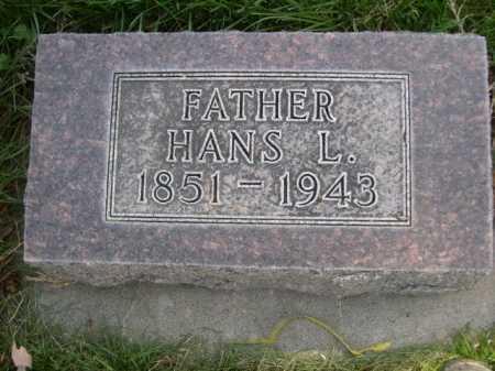 THOMPSON, HANS L. - Dawes County, Nebraska | HANS L. THOMPSON - Nebraska Gravestone Photos