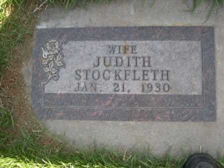 STOCKFLETH THOMPSON, JUDITH - Dawes County, Nebraska   JUDITH STOCKFLETH THOMPSON - Nebraska Gravestone Photos