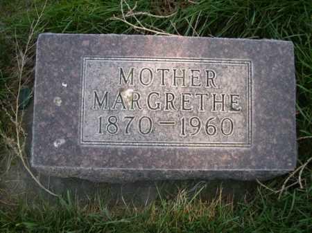 THOMPSON, MARGRETHE - Dawes County, Nebraska | MARGRETHE THOMPSON - Nebraska Gravestone Photos