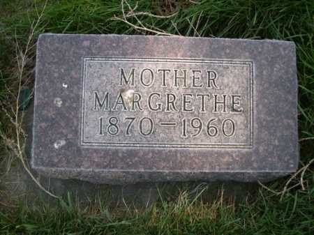 THOMPSON, MARGRETHE - Dawes County, Nebraska | MARGRETHE THOMPSON - Nebraska Gravestone Photos