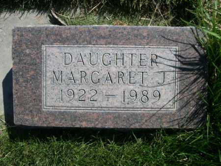 THOMPSON, MARGARET J. - Dawes County, Nebraska | MARGARET J. THOMPSON - Nebraska Gravestone Photos